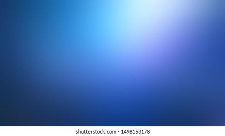 Magical low light on deep blue defocus illustration. Aurora borealis pattern. Wonderful sky blur background. Secret abstract template.