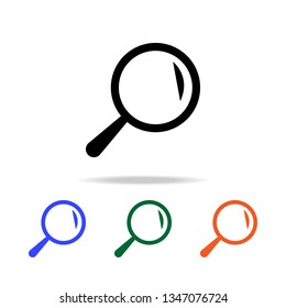 magnifier  Simple icon for websites, web design, mobile app, info graphics