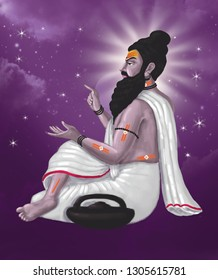 Maharishi Bhrigu was one of the seven great sages, the [Saptarshi]s, one of the many [Prajapatis] (the facilitators of Creation) created by [Brahma]. He was born in Ballia.