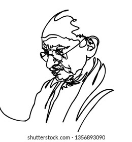 Mahatma Gandhi. Gandhi. India's father of the nation and leader of the Indian independence movement against British rule. Most popular person in the world.