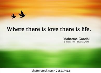 Mahatma Gandhi Quotes Stock Illustrations Images Vectors Shutterstock