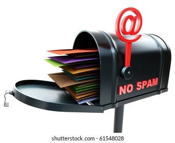 mailbox no spam