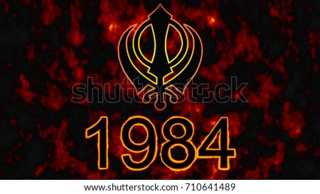 Royalty Free Stock Illustration Of Main Symbol Religion Sikhs Khanda