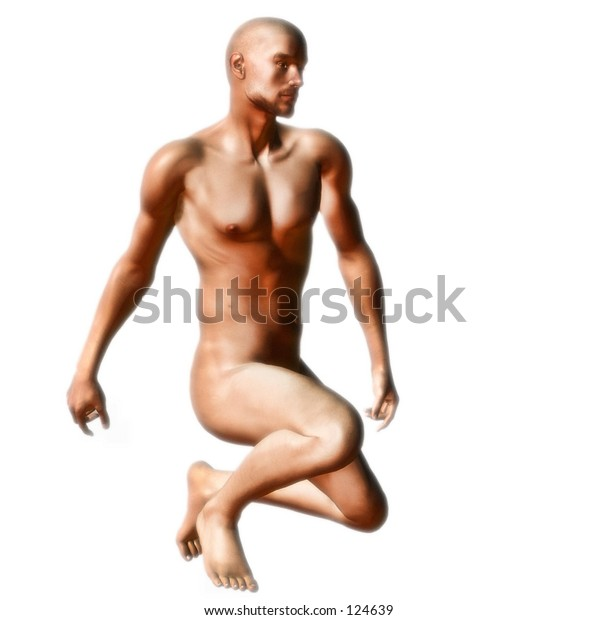 Male body rendering.