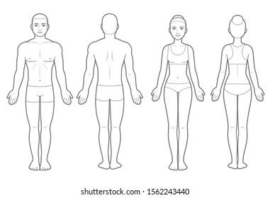 Body Template Images Stock Photos Vectors Shutterstock