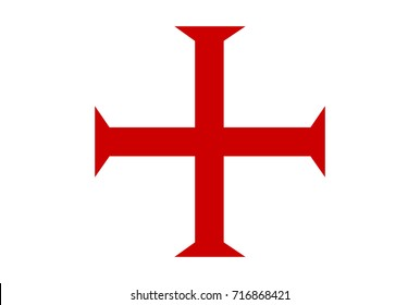 malta order templar knights red cross symbol