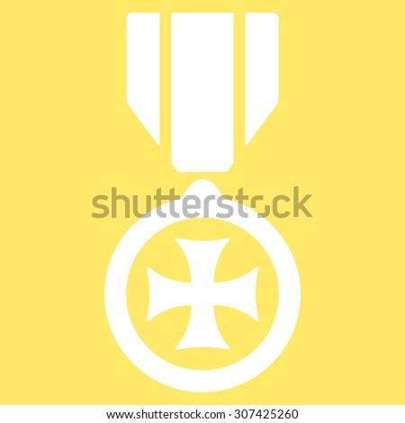 Maltese Cross Icon Glyph Style Flat Stock Illustration 307425260