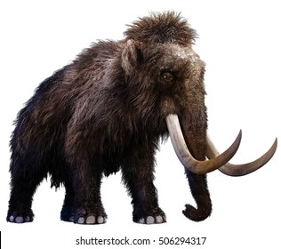 Mammoth 3D illustration