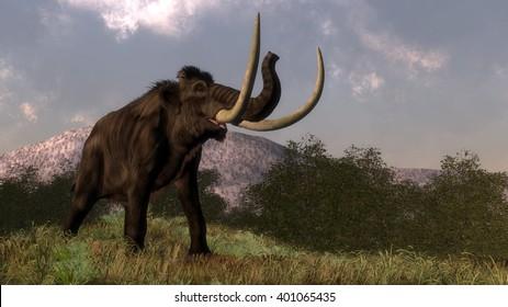 Mammoth - 3D render