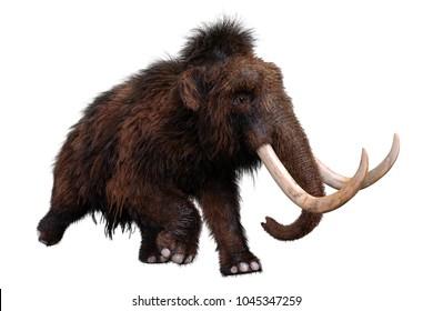 mamut 3d illustration