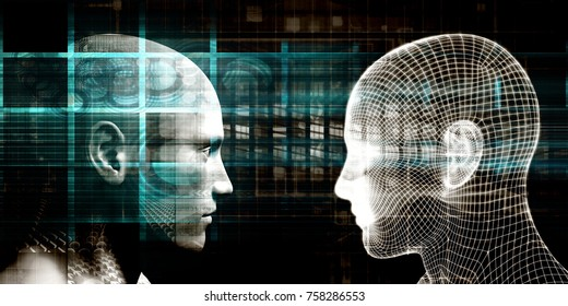 Man Machine Integration Design and Analytics System 3D Render