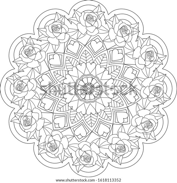 Outstanding Stress Relief Coloring Picture Inspirations – Slavyanka | 620x600