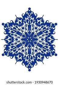 Mandala ornamental. Luxury mandala background, decorative background with an elegant mandala design. Pattern, Ornamental Background. Digital art illustration