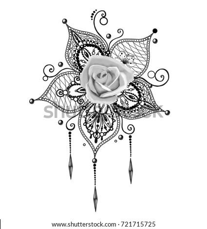 Tatouage Mandala Lotus Rose Tattoos Pictures Www Picturesboss Com