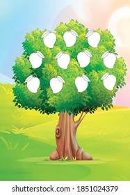 Cartoon Mango Tree Hd Stock Images Shutterstock Grinning mango tree in the cartoon shape. https www shutterstock com image illustration mango on tree cartoon image illustration 1851024379
