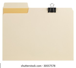 Manila File Folder with Path