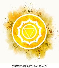 manipura chakra symbol