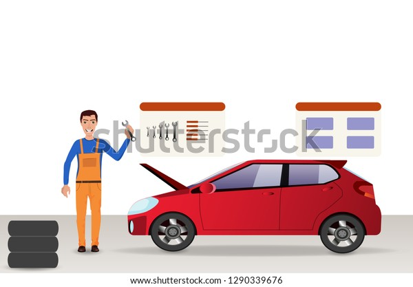 Auto Repair Nearby >> Manmechanic Garage Auto Repair Service Near Stock