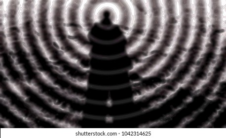 Man-mind, telepathy, the third eye and paranormal abilities, yoga skills, horror voodoo, super-strength