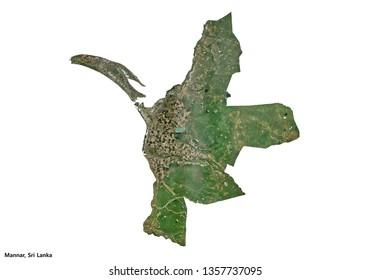 Mannar, Sri Lanka (3D illustration)