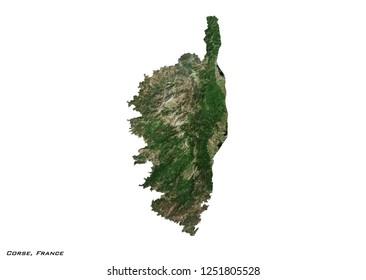 Map (3D illustration)