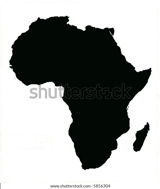 Map Of Africa Madagascar.Map Africa Madagascar Stock Illustration 5856304