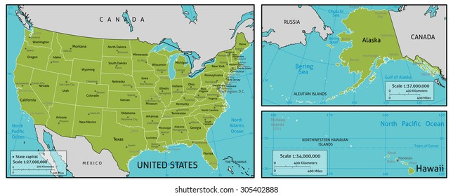Usa Map Major Cities Images, Stock Photos & Vectors ...