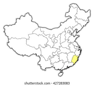 Map - China, Fujian