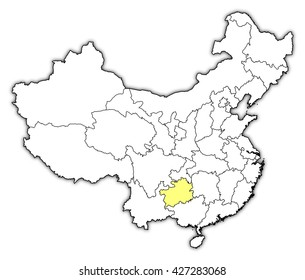 Map - China, Guizhou