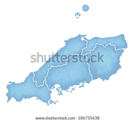 Map Of China Region.Map China Region Japan Stock Illustration 186735638 Shutterstock