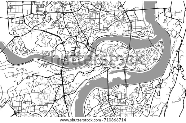 Map City Chongqing China Chongqing Munility Stock Illustration ... Chongqing China Map on