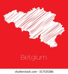 A Map of the country of Belgium Belgium