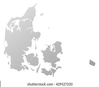 Map - Danmark