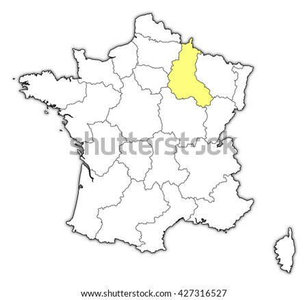 on champagne france map