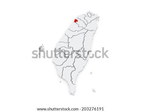 Map Hsinchu City Taiwan 3 D Stock Illustration 203276191 - Shutterstock