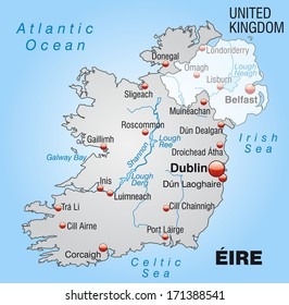 Galway On Map Of Ireland.Galway Ireland Map Images Stock Photos Vectors Shutterstock