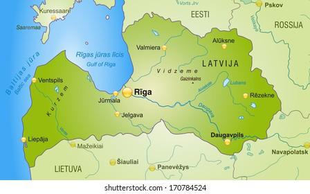 Detailed Map Slovenia Stock Illustration - Royalty Free Stock ...