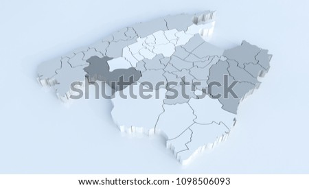 Map Mallorca All Areas Highly Detailed Stock Illustration - Royalty ...