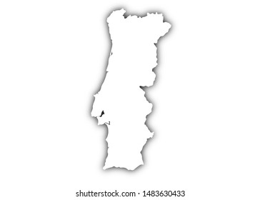 Portugal Map High Res Stock Images Shutterstock