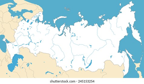 Lake Baikal World Map.Map Of Lake Baikal Images Stock Photos Vectors Shutterstock