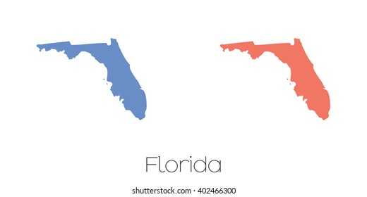State Of Florida Map.500 Florida State Map Pictures Royalty Free Images Stock Photos
