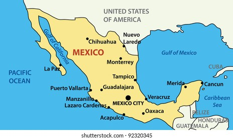 Acapulco Map Images, Stock Photos & Vectors | Shutterstock