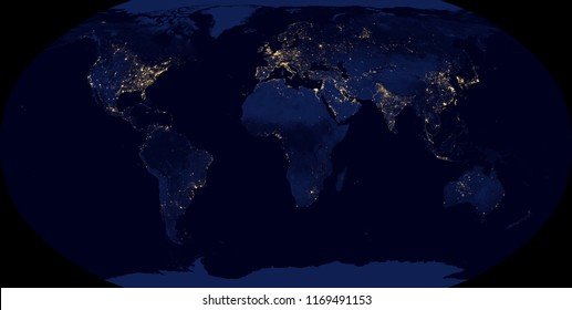 Map of the world at in Robinson projection - shaded relief, the map colors gradually blend into one another across regions and from lowlands to highlands - 3D rendering