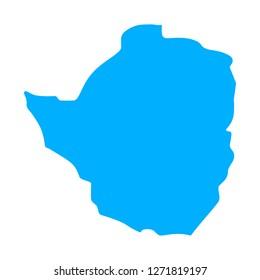 Bilder, Stockfotos und Vrgrafiken Zimbabwe Map | Shutterstock on