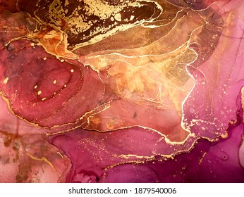 Marble Background Colour. Passion Alcoholic Ink. Pink Marble Pattern. Oily Pattern. Black Artistic. Diffusion Color. Red Contemparay Art. Splash Paint.