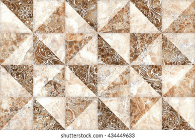 Marble Brown Abstract Pattern Seamless