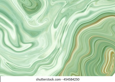Marble ink colorful. green marble pattern texture abstract background. can be used for background or wallpaper