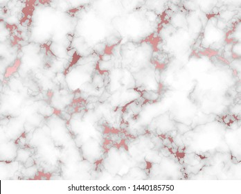 Marble with rose gold texture background. Seamless pattern. Beautiful abstract marble pattern with high resolution. Glitter marbling for design. Elegant marble gold texture. Endless marbling backdrop