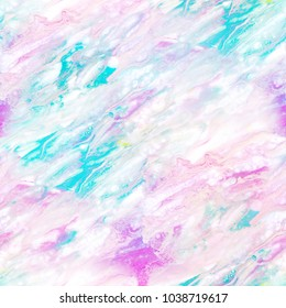 Marble seamless pattern. Abstract liquid watercolor and ink background texture. Fluid trendy design. Colored painting illustration wallpaper