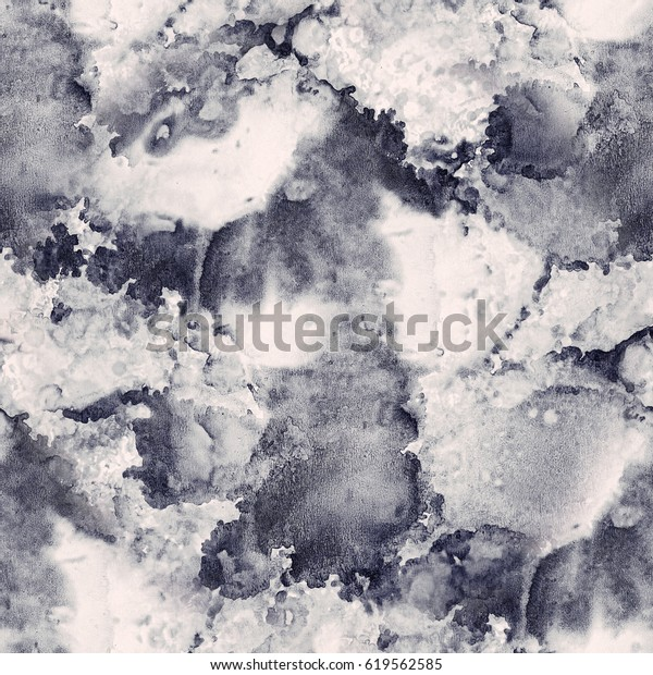 Marble seamless texture pattern.  Abstract colorful vintage trendy ink background.